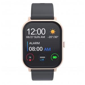MobilePro G7 Smartwatch & Fitness Tracker - Black & Gold